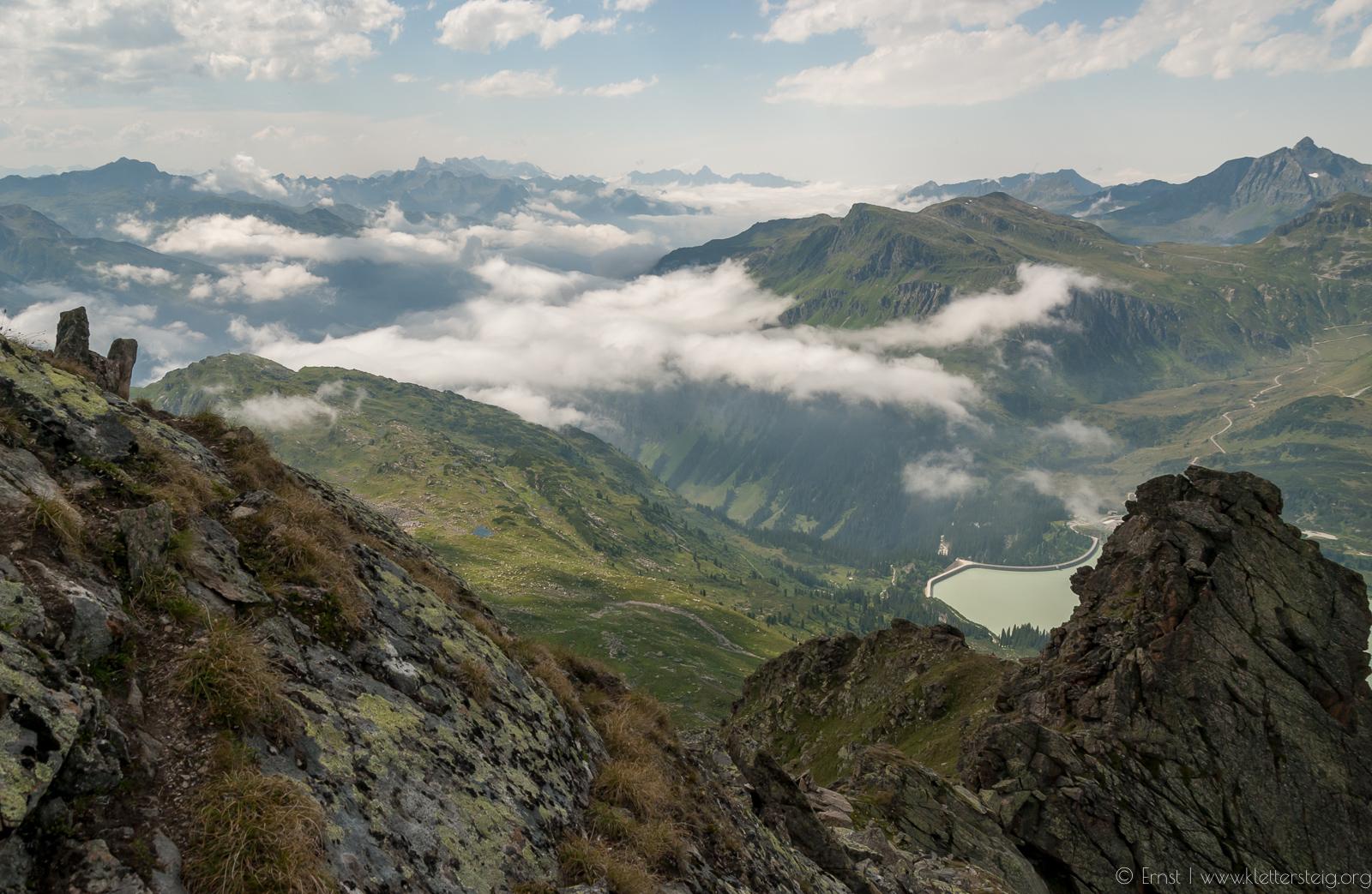 SILVAPARK Juli 2007 Abstieg